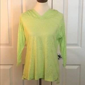 Columbia Lime Green Beach Hoodie